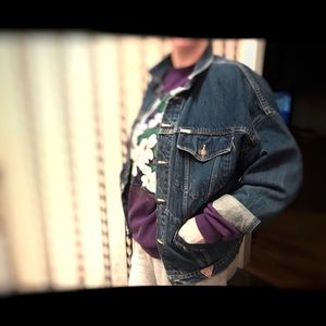 Vintage 80's Guess Jean Jacket by Georges Marciano